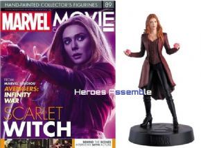 Marvel Movie Collection #089 Scarlet Witch Figurine Eaglemoss Publications